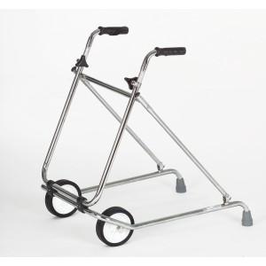 Caminador con ruedas plegable