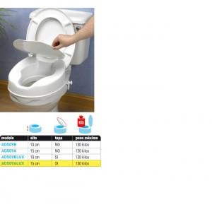 Elevadores de WC económicos con tapa