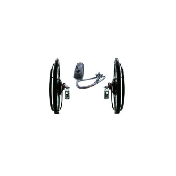 Kit de ruedas con motor para conversi n silla de ruedas mundo actual - Motor silla de ruedas ...