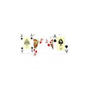 Baraja de poker numeros grandes